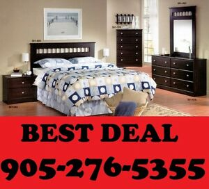 NEW 6PCS BEDROOM SET ONLY $499.00 COLOR CHOICE