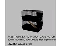 Brand New 2 Tier Animal Cage 80cm