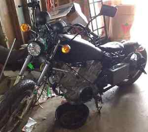 Parting out '82 XV750