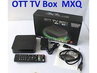 New boxed MXQ OTT Android Tv box. Kodi 16.1 Fully Loaded Movies Sports Etc. Pulse Build CCM.