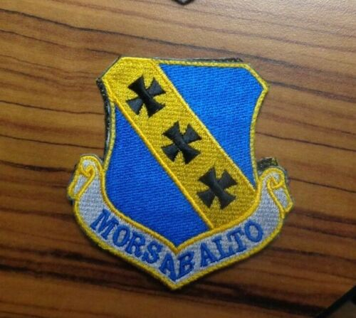 USAF PATCH, 7th BOMB WING,WITH HOOK loop
