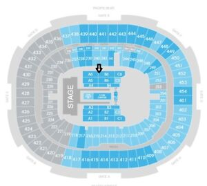 Beyonce and Jay-Z OTR II Tour PAIR FLOOR FACE VALUE