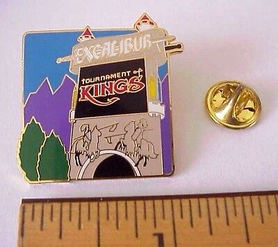 Excalibur Hotel Casino Las Vegas Nv  Tournament Of Kings Jousting Knights Pin