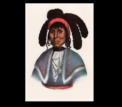 Seminole Chief Micanopy PHOTO Portrait Indian CRAZY ALLIGATOR, 2nd Seminole War