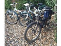 Raleigh RM6 Runabout motorised bicycles vintage mopeds