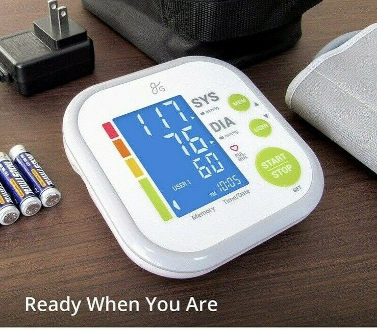 Digital Blood Pressure Monitor Upper Arm FDA/CE/FCC Approved