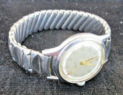 Vintage Men's Valjean 17 jewel military watch incabloc automatic Running