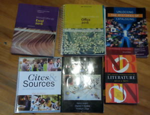 NSCC Library & Information Technology program textbooks