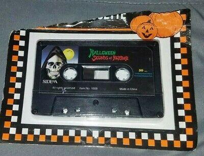 Terrifying Halloween Sounds (Halloween Sounds of Horror Cassette Tape 1996 NEW Item No 1008 Terrifying)