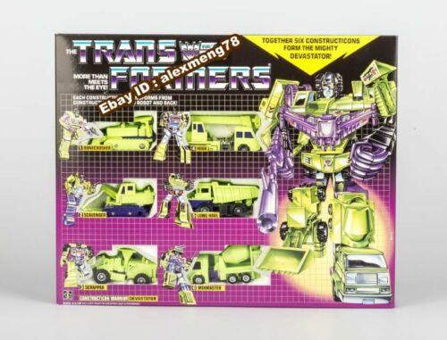 Transformers G1 Devastator reissue brand new action figure WITH BOX MISB Gift