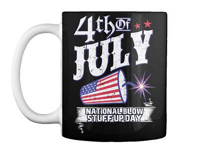 4th Of July National Blow Up Day Usa - Stuff Gift Coffee Mug