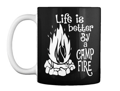 Camping-life Is Better By A Campfirenew Gift Coffee