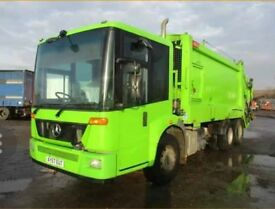 2008 MERCEDES ECONIC REFUSAL TRUCK . LOW MILL