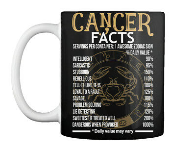 Cancer Zodiac Mug - Cancer Awesome Zodiac Sign -cancer Facts - Gift Coffee Mug