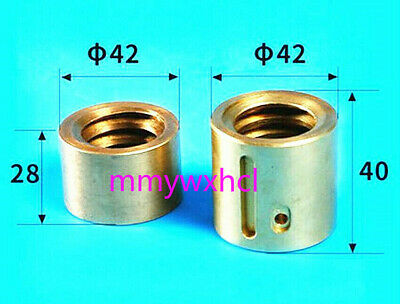 Milling Machine Part Landscape Screw Nut Y Axis Mobile Copper Nut Cnc Mill 2pcs