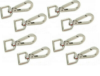 8 x Lanyard Hook Swivel Snap For Paracord Lobster Clasp Clips Dog Leash Best