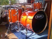7 Piece Drumkit (Mapex M Birch)