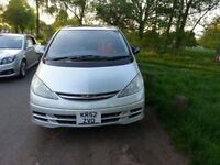 TOYOTA ESTIMA 2.4 LPG GAS CONVERTED AUTO 8 SEATS 4X4 HIGH SPEC, REVERSE CAMERA, 2 SUNROOFS