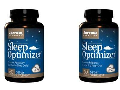 2 X 60Cap Jarrow Formulas Sleep Optimizer Health Supplement Daily Homeopathic