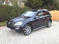 2011 Mercedes Benz ML350 BLue efficiency 7G automatic
