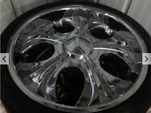 20x8.5inch Wheelboyz Rims & Tyres Parkinson Brisbane South West Preview