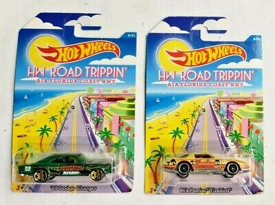 2014 Mattel Hot Wheels HW Road Trippin' AIA Florida 2 Car Combo 1/64 Scale
