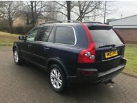 VOLVO XC90 AWD SE D5 2.4 DIESEL 7 SEATER LEATHER ALLOYS CRUISE CD FULL HISTORY RELIABLE FAMILY 4X4