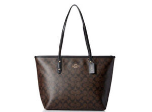 ad75d2cae47db COACH F36876 Signature City Zip Women s Tote Handbag for sale online ...