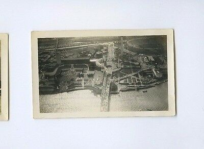 1933 World's Fair Chicago Century of Progress - Aerial View - Vintage B&W Photo