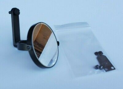 American Optical Spencer Plano-concave Microscope Mirror With Locator Bracket