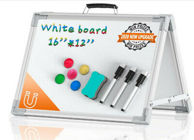 Portable White Board Double Sided Magnetic Board Stand