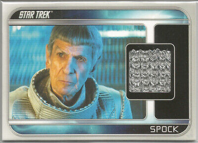 2009 Star Trek Kostüm (Star Trek Filme 2009 ~ Kostüm / Relic Karte CC6 Spock / Leonard Nimoy)