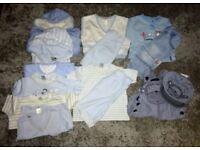 0-3 Baby Boy Clothing Bundle - Next, Debenhams, George, F&F, Couche Tot, Matalan