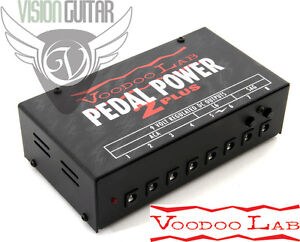 NEW-Voodoo-Lab-PEDAL-POWER-2-PLUS-9-Volt-Isolated-Filtered-Supply-120v