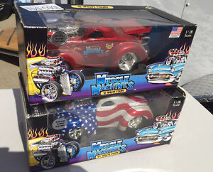 Large 1:18 Muscle Machines diecast - '41 Willys Coupe