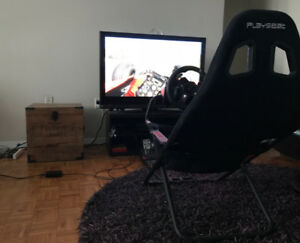Playseat Challenge & Logitech G920 Driving Force Race Wheel
