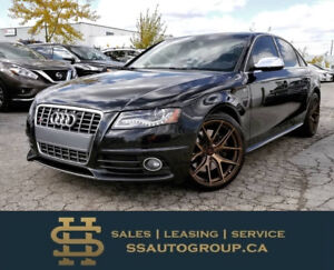 2012 AUDI S4 NAVI | BACKUP CAM | ACCIDENT-FREE | RED SEATS |