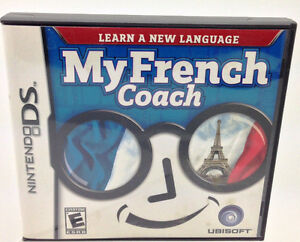 Nintendo DS - My French Coach - by Ubisoft or lot of 11 games