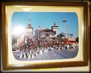 Budweiser picture -- old frame