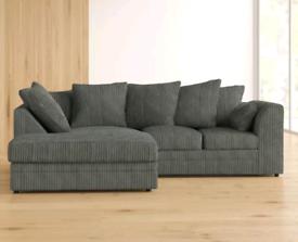 😊Brand new 3+2 sofa /corner suite in Jumbo Cord 😎