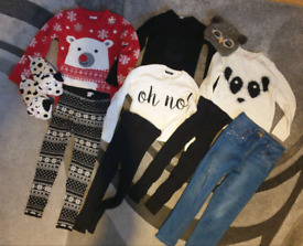 Jumper Bundle Girls 7-8 and 8-9 years- 10 Items