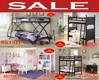 kids bedroom sets, girls & boys bunk bed, mattresses, canopy bed
