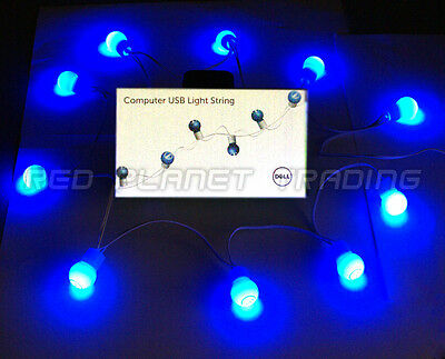 5-LOT NEW Dell PC Computer Monitor Desktop Illuminating LED USB Light String](Computer Monitor Christmas Lights)