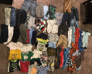 3-6 & 6-12 month clothing