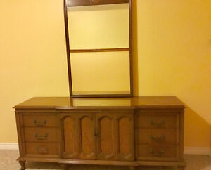 Solid wood Triple dresser for anyone who can pick it up!