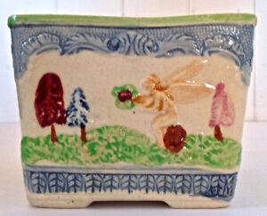 Antiquité Magnifique plat carré en porcelaine Japon
