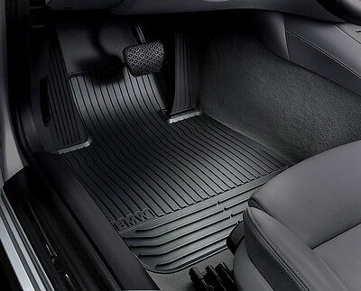 BMW OEM Black Rubber Floor Mats 2010-2013 535i, 550i Gran Turismo 51472152351