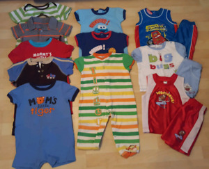 Size 18m summer clothing lot $25