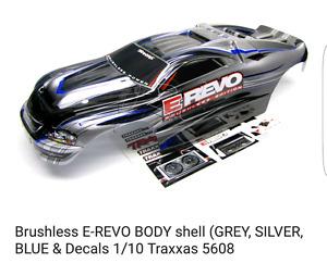E Revo 1/10 body