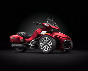 2016 Can Am Spyder F3-Ltd 1330 Triple / Brand New (Red)